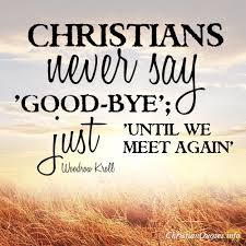 Christian Goodbye Quotes