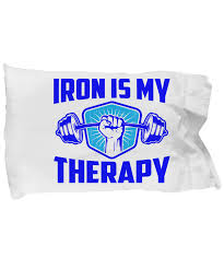 Funny Gift For Iron Is My Therapy Bodybuilder Best Bodybuilding