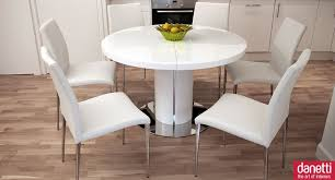 white round dining table including modern white dining room furniture living room and dining room
