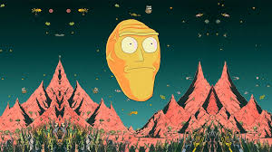 Rick And Morty Wallpaper Giant Heads ...