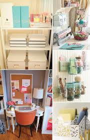 having a small home office space myself im always looking for smart beautiful ways to organize my space more efficiently take a look a these beautiful beautiful small home office