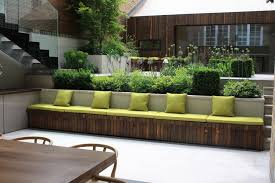 Small Picture garden bench ideas Landscape Contemporary with Contemporary garden