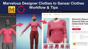 Photo Designer 7 Artstation Marvelous Designer 7 To Sansar Video Tutorials