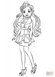 Jane Coloring Page Free Movie Coloring Pages Descendants