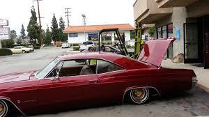 Daz' 65 Chevrolet Impala on Air - YouTube