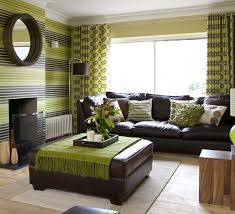green brown living rooms | Living Room Decorating Ideas With A Green Couch  30 Brown And