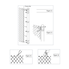 chain link fence post sizes. Fine Sizes Install A Chain Link Fence Within Proportions 1000 X On Post Sizes O