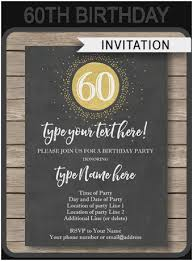 diy birthday chalkboard best of chalkboard 60th birthday invitations template