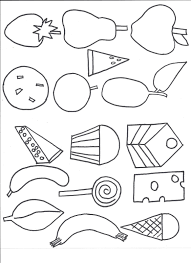 Small Picture Coloring Pages Very Hungry Caterpillar Coloring Coloring Pages