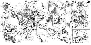 diagram for honda polit 2003 heater unit honda oem parts 2003