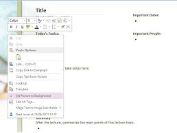 onenote budget template how to use onenote templates to be more organized