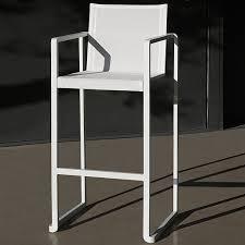 wood patio bar set. ALR 43 Modern Bar Stool In White From Royal Botania MODERN Outdoor BAR Furniture | ALURA Wood Patio Set