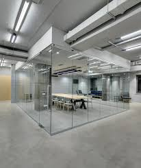 interior glass partitions and glass walls