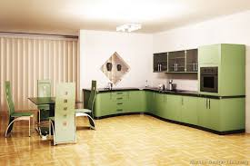 Small Picture Pictures of Kitchens Modern Green Kitchen Cabinets