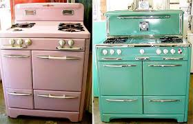 retro looking appliances. Delighful Looking Vintage Looking Kitchen Appliances Style Rapflava Throughout Retro E