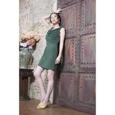 Anya Dress Olive Green