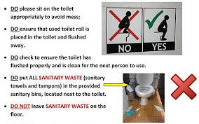 Toilet Training Posters For Swansea University Students Telegraph