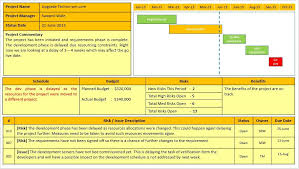 Project Progress Report Sample Project Status Report Template Free Downloads 10 Samples