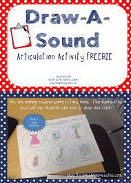 Articulation Activity-Draw a Sound FREE Worksheet ...