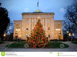 Downtown Raleigh Christmas Lights The Capitol Raleigh Nc Stock Image Image Of Colorful