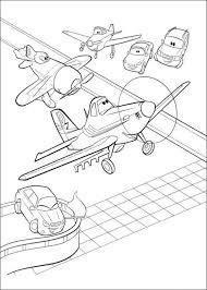 Planes Kleurplaten Printen