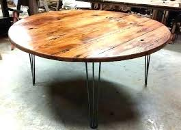 wooden round dining table light wood round dining table outstanding home ideas for reclaimed wood round