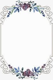 frame. Vintage Floral Border, Flowers, Frame, Continental PNG And Vector Frame