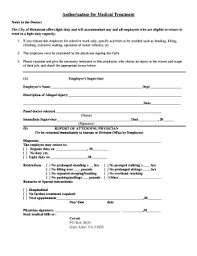 Fillable Light Duty Doctors Note Templates To Submit Online In Pdf