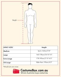 Morphsuit Size Chart Buy Jaguar Morphsuit Adult Costume For Costumebox