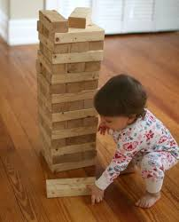 Game Played With Wooden Blocks 100 Apart How to Build A DIY Giant Jenga Stacking Game 35