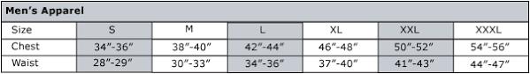 Akademiks Size Chart Drjays Size Chart Men Clothing Size Chart For Children Puma