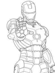 iron man marvel iron man coloring pages kids iron man coloring pages free printable for