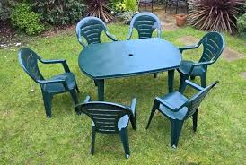 plastic garden tables plastic patio tables furniture plastic garden table and chairs asda
