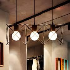modern industrial lighting. E26e27 3 Light Modern Industrial Pendant Lighting U