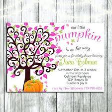 Pumpkin Invitations Template Fall Baby Shower Invitation Templates Printable Fall Baby Shower