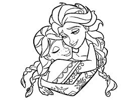 Coloriage De Elsa Et Anna Imprimer Top Portrait Coloriage Imprimer