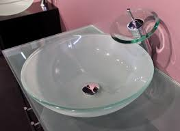 glass frosted green glass vessel sink tradewindsimports