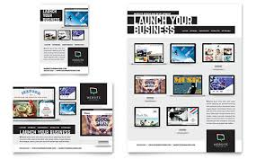 Technology Flyers Templates Design Examples