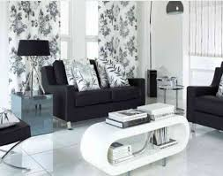 Living Room With White Furniture Living Room Black And White Magnificent Black And White Chairs