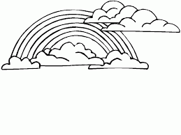 Small Picture Free Printable Rainbow Coloring Pages For Kids