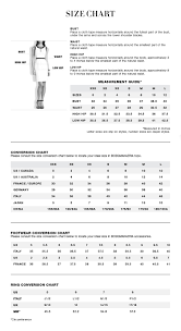 Standard Size Chart For Shoes Pdp Size Chart Bcbg Com