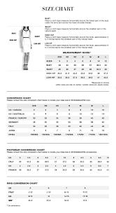 Kate Spade Size Chart Pdp Size Chart Bcbg Com