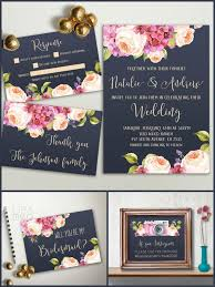 best 25 floral wedding invitations ideas