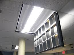 fluorescent light covers office