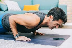 chest workout at home with without equipment