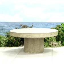 round concrete coffee table outdoor wonderful floating furniture patio in top