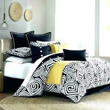black white bedding black and white striped