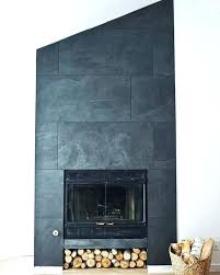 slate tiles for fireplace tile fireplace gorgeous inspiration slate tile fireplace surround fireplace refacing glass tile