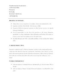 Personal Objective Examples Enchanting Sample Career Profile For Resume Best Of Personal Statement Examples