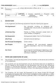 Microsoft Office Contract Template 40 Free Loan Agreement Templates Word Pdf Template Lab